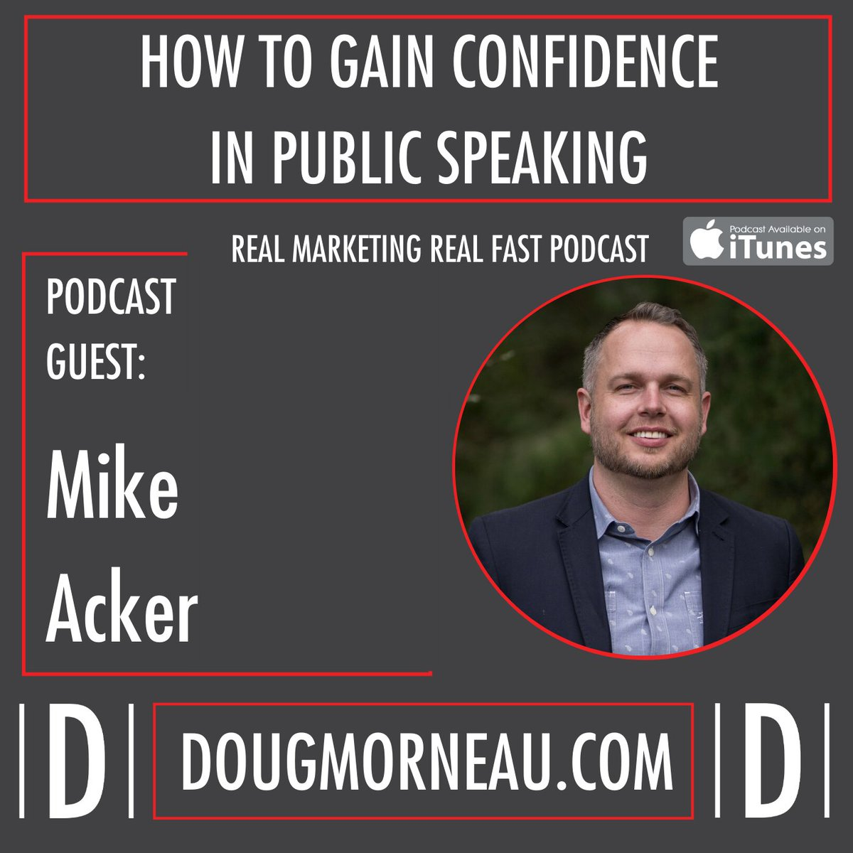 If you are uncomfortable with how you sound or how you look, then the moment on stage where you feel a little bit insecure. http://ed.gr/cbyzz  Mike Acker @mike_acker #RMRF @realmarketingrf #publicspeaking #leadership #Toastmasterspic.twitter.com/a8IYZv81Pc
