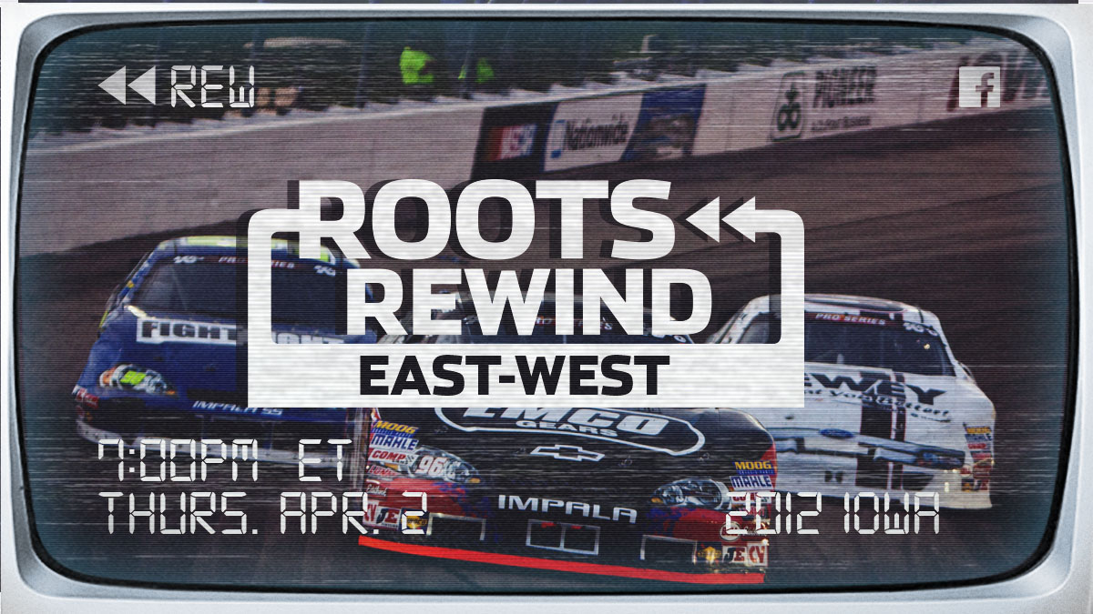 Tonight, were streaming the 2012 @iowaspeedway East-West Series race on Facebook! Join us at 7pm ET for this race filled with some of todays biggest @NASCAR stars! 👀💻→ facebook.com/ARCARacing/