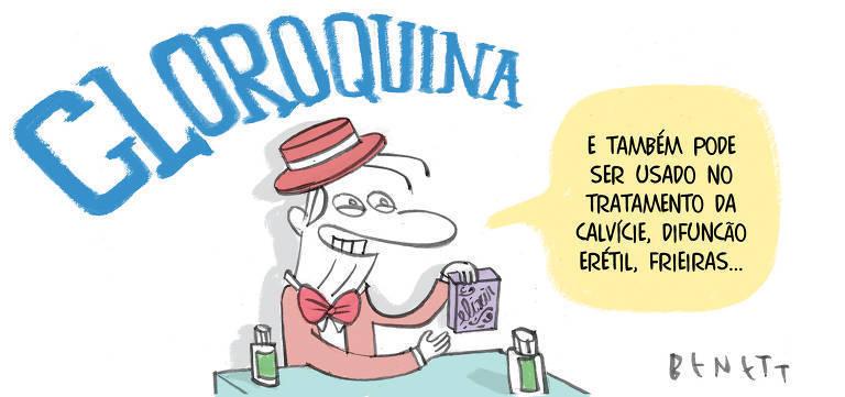 "Folha de S.Paulo Twitterissä: ""Esta é a charge de @Benett_ publicada na  #Folha desta quinta (2). Quer ver mais charges do jornal? Acesse  https://t.co/SYBMd91i4u #folha #fsp #folhadespaulo #coronavirus  #coronavirusbrasil #covid19 #charge #humor #"