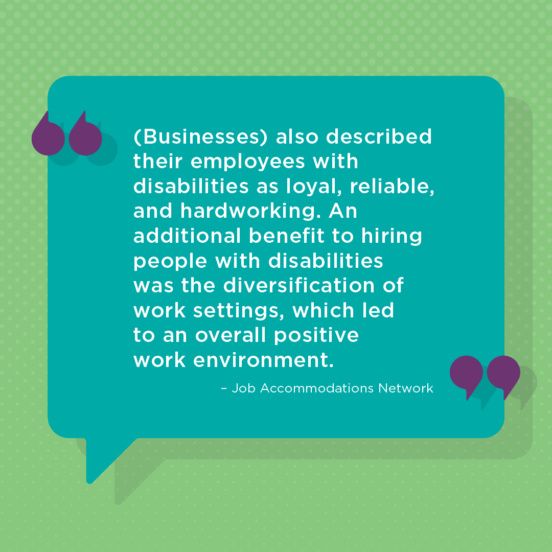 April is Celebrate Diversity Month! We want to highlight different minority groups this month with facts about what great things they each bring to the workforce. This week, we're focusing on people with disabilities. #diversity #inclusion #celebratediversity #workplaceexperience<br>http://pic.twitter.com/fpEt3Bj1Ig