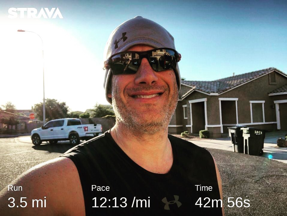 Now that is more like it. No flat tire today, just a nice easy run with perfect AZ weather. #teamnuun #hshive #runhappy #fitnessmotivation #fitnessjourney #instarunner #tritraining #azrunner<br>http://pic.twitter.com/2s9Syg9f8e