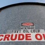 Image for the Tweet beginning: Oil crash poses severe test