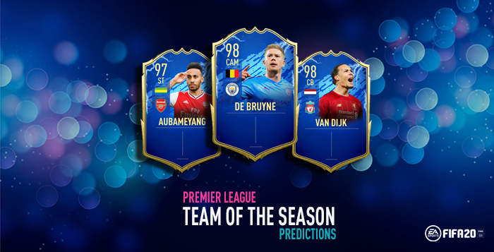 FIFA 20 Premier League TOTS Predictions