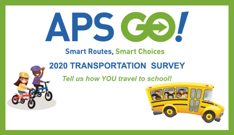 LAST CHANCE to tell us how you get to school -- <a target='_blank' href='http://search.twitter.com/search?q=APSGO'><a target='_blank' href='https://twitter.com/hashtag/APSGO?src=hash'>#APSGO</a></a> Family & Staff Transportation Survey CLOSES TOMORROW <a target='_blank' href='http://twitter.com/RandolphStars'>@RandolphStars</a> <a target='_blank' href='http://twitter.com/GravesKimberley'>@GravesKimberley</a> <a target='_blank' href='http://twitter.com/DrewPTA'>@DrewPTA</a> <a target='_blank' href='http://twitter.com/APSDrew'>@APSDrew</a> <a target='_blank' href='http://twitter.com/judy_ab'>@judy_ab</a> <a target='_blank' href='http://twitter.com/teachnpe'>@teachnpe</a> <a target='_blank' href='http://twitter.com/BarrettAPS'>@BarrettAPS</a> <a target='_blank' href='http://twitter.com/BPTAE'>@BPTAE</a> <a target='_blank' href='http://twitter.com/apscspr'>@apscspr</a> <a target='_blank' href='http://twitter.com/apscselementary'>@apscselementary</a> Click link below for survey in English or Spanish! <a target='_blank' href='https://t.co/wLtBx5vNFH'>https://t.co/wLtBx5vNFH</a> <a target='_blank' href='https://t.co/d7QkjOFBl1'>https://t.co/d7QkjOFBl1</a>