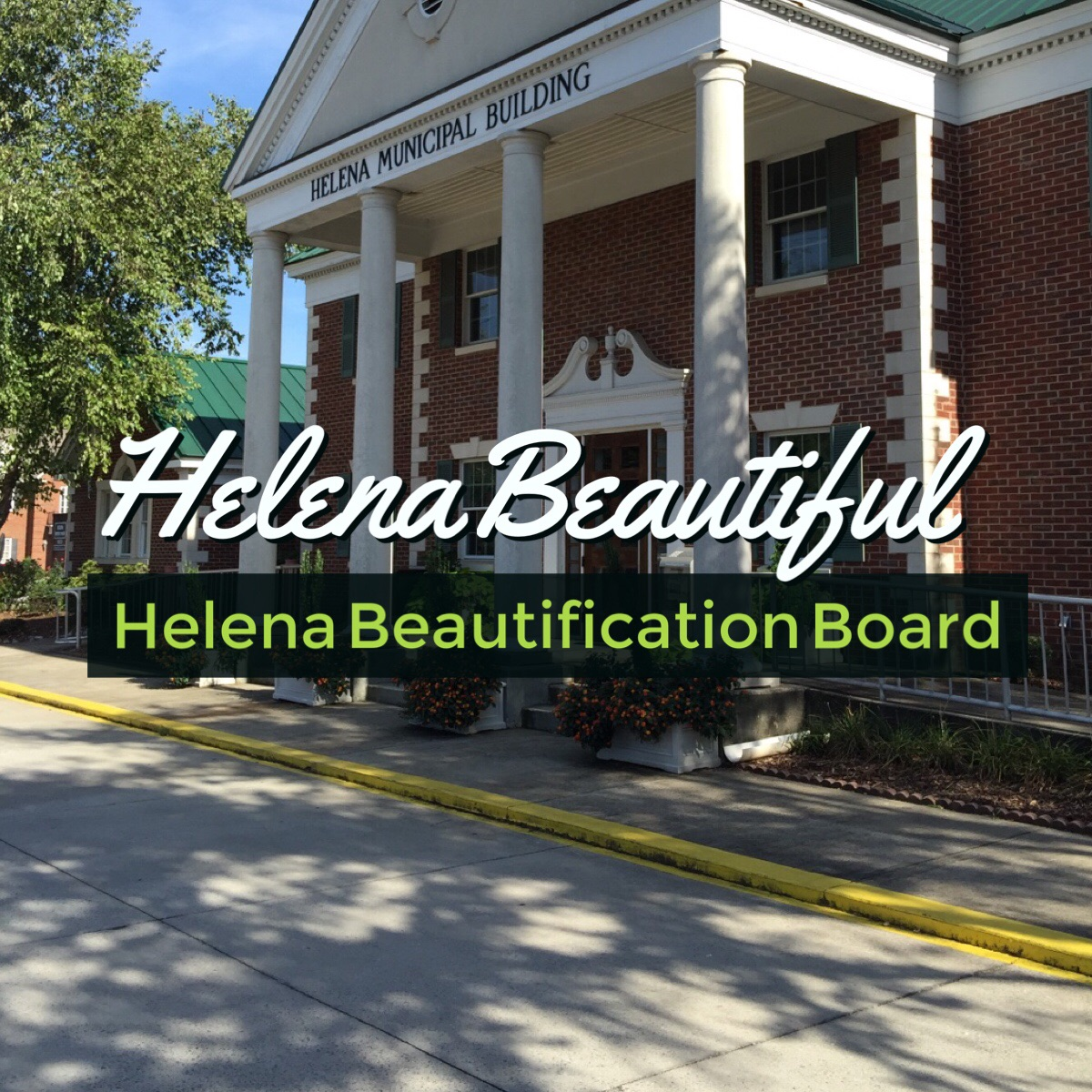A Word from the Chairman - Making Helena beautiful is a duty we all share and can take pride in. http://www.helenabeautiful.com/chairman.html  #HelenaAL #LoveWhereYouLive pic.twitter.com/Jrw1vKinQO