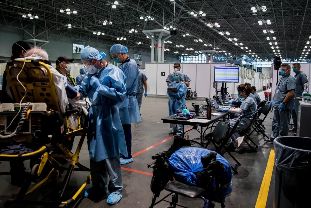 Estados Unidos enfrentará una dura semana en materia de coronavirus
