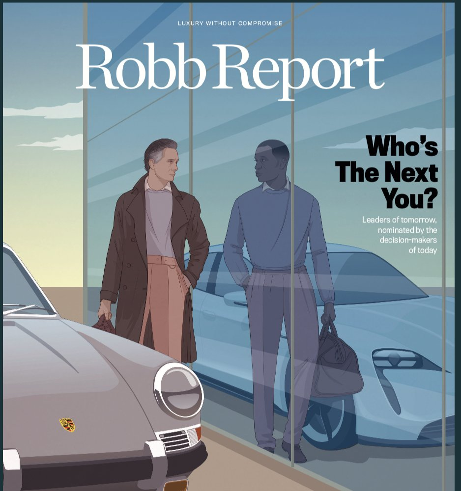 """For the April issue of Robb Report, I was asked """"Who is the next me?""""   I picked 20-year-old @ColtonHerta.  When I look at him, I see myself.  Check out the list of """"leaders of tomorrow""""....  nominated by leaders of today.  Thanks for including a couple of racers @RobbReport https://t.co/fW3zUjPmtj"""