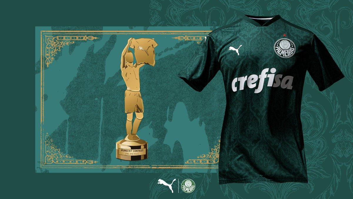 O @pumafootball lançou a votação para decidir qual a camisa do ano mais bonita e tiramos de letra!  Uniforme I campeão, digno de troféu 🏆   Obrigado @PUMA e @puma_br pela parceria!  #AvantiPalestra #JogandoEmCasa