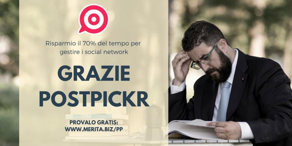 Da oltre un anno uso PostPickr per gestire tutti i miei canali #social. È un prodotto eccezionale e provarlo è #Gratis. Usa questo link http://bit.ly/2hk9Uvp  .  .  .  .  #affiliatemarketing #socialmediamarketing #italiapic.twitter.com/x4DMYZC6l2