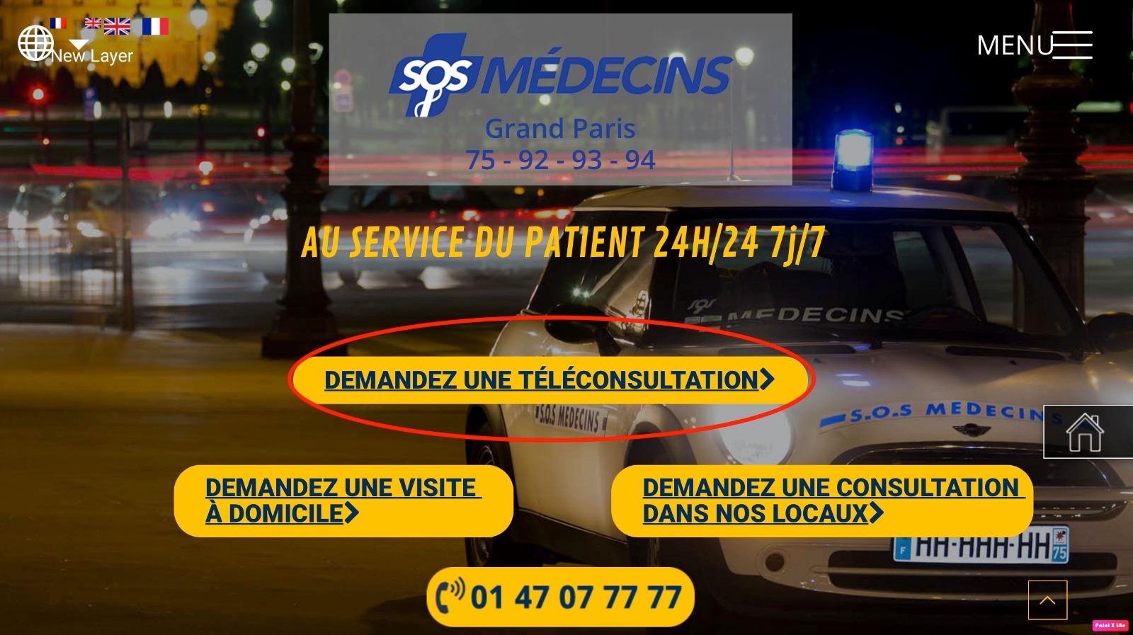 "SOS MEDECINS on Twitter: ""SOS Médecins cest 🏘️ Des visites à"