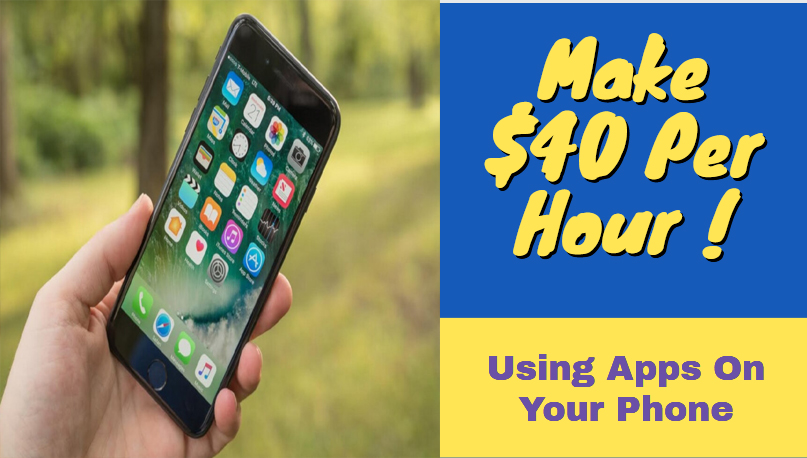 How to Make $40 Per Hour ! Using Apps On Your Phone Click here : https://youtu.be/F4SEaSrOXQo  #makemoneyonline  #makemoneyonlinefromhome  #howtomakemoneyonline  #affiliatemarketing pic.twitter.com/zXawKg7XmC
