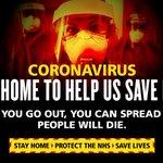 Image for the Tweet beginning: Anyone can spread #coronavirus.   Stop