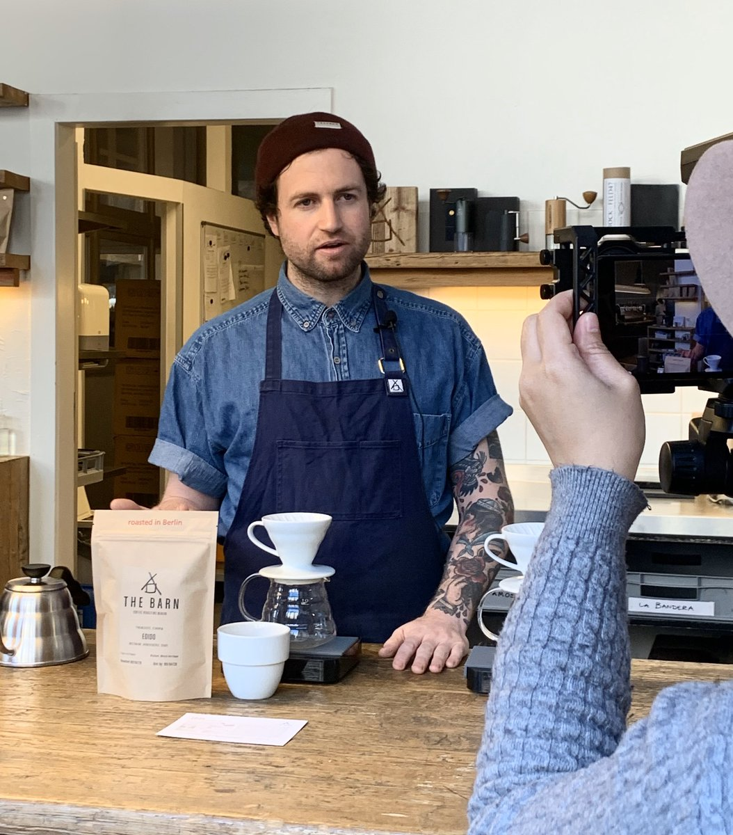 Brew like a Champ. We run a Live IG Video Friday morning at 10:30 Berlin Time. Our Headbarista Jake will take you through his V60 approach in his first session.   #coffeebrewing #coffeeworkshop #v60 #sharingknowledge #coffeecommunity #baristalife #thebarnberlinpic.twitter.com/sn2uGBU2y9
