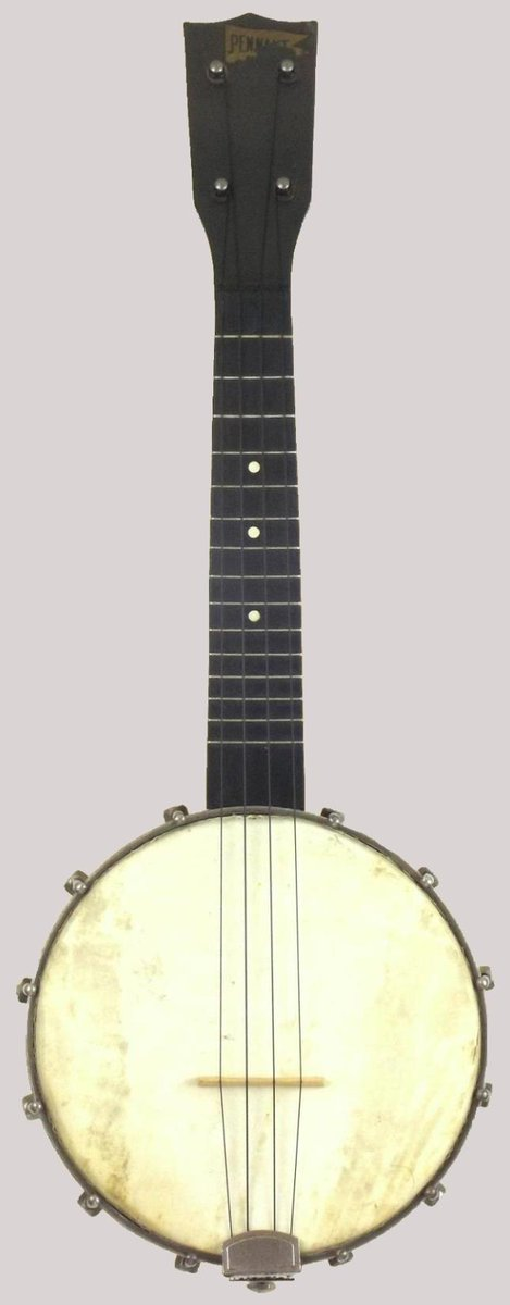 Globe made Barth Lutchins and Feinberg Pennant Banjolele Banjo Ukulele