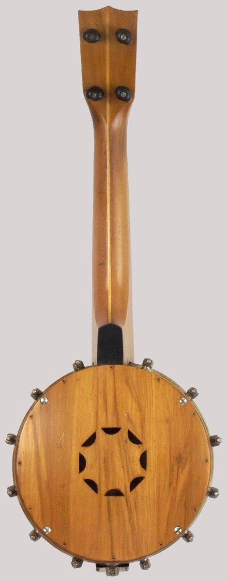 B.L.&F. pennant Banjolele Banjo at Lardy's Ukulele Database