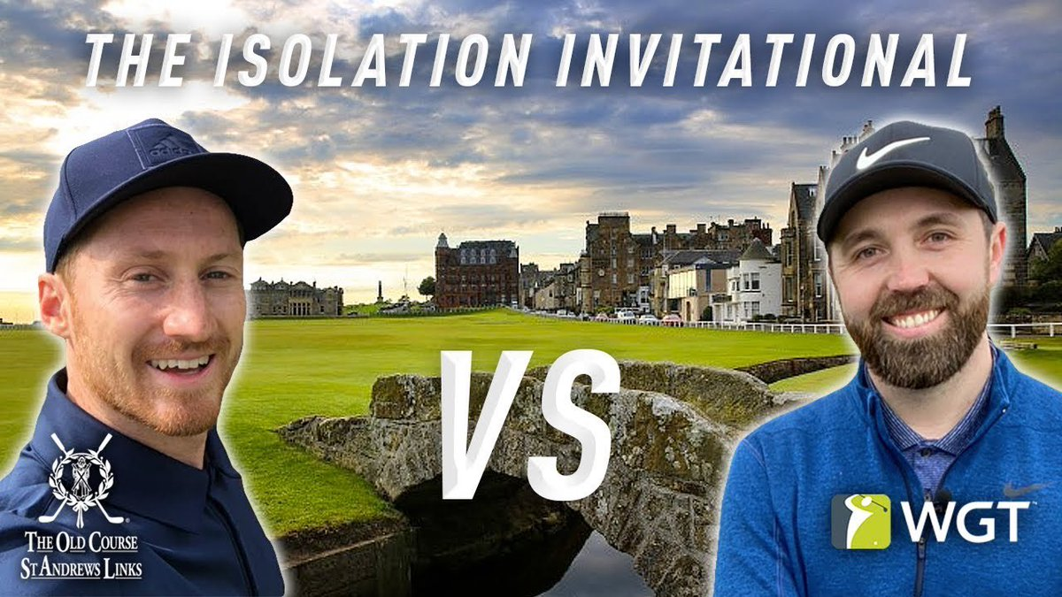 Never seen anything like it!! On only his second ever hole playing The Old Course, @RickShielsPGA makes a 62ft birdie putt! Watch it here👇🏻👀 #StayAtHomeTour youtu.be/A1-Zm4QpSn4