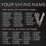 Image for the Tweet beginning: What's your #Vikings name!?⚔️Binge season
