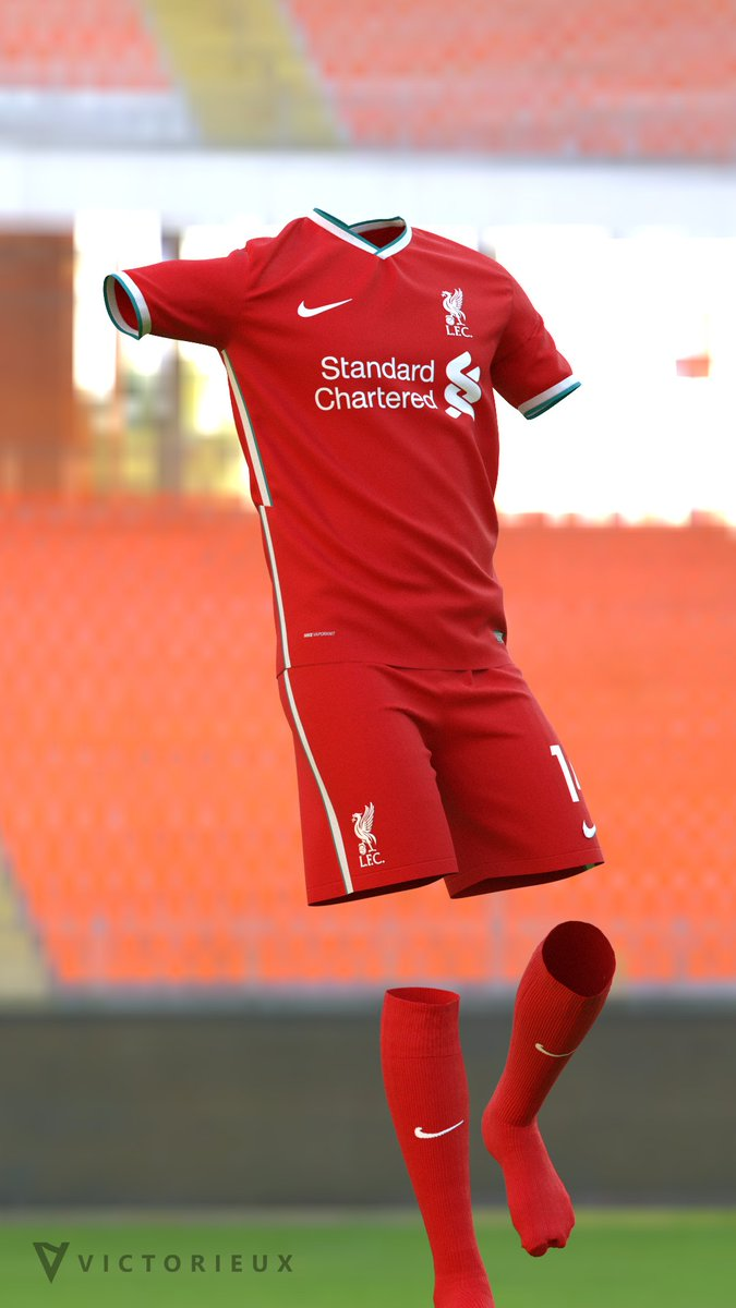 Liverpool Nike 20-21 Prediction v2. On The Pitch.