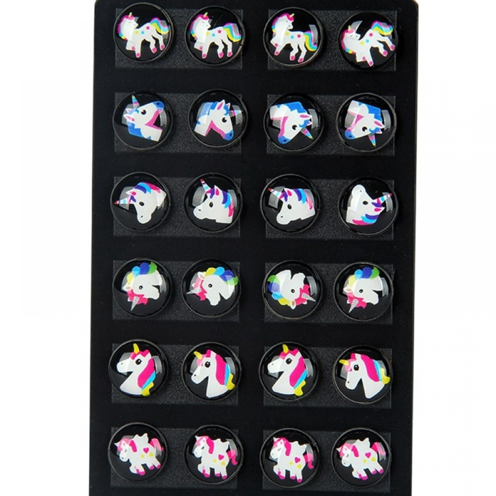 #neko #kawaiigirl #animeworld Kawaii Unicorn Patterned Earrings 12 pcs Set https://kawaiifair.com/kawaii-unicorn-patterned-earrings-12-pcs-set/…pic.twitter.com/QOm9lketg6