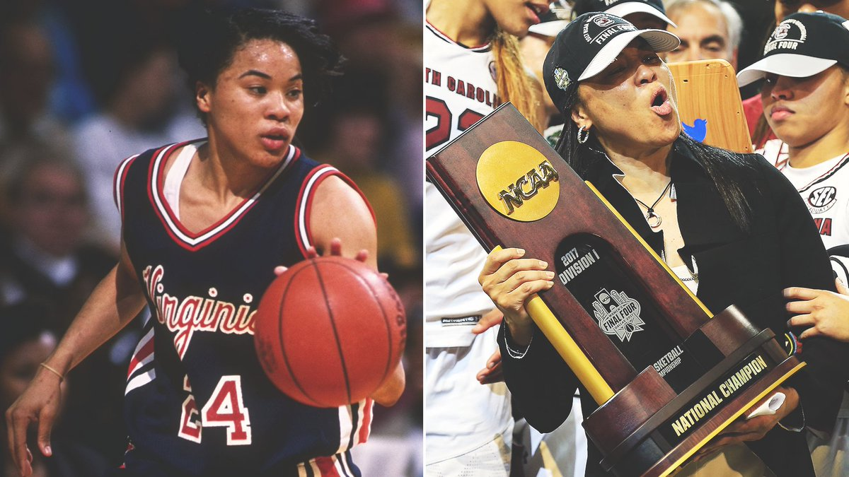 '91 & '92 Naismith Player of the Year 2020 Naismith Coach of the Year The only person to win both: @dawnstaley 🏆🏆