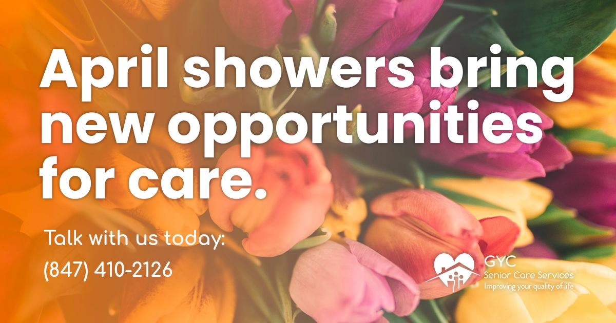Spring is here, which opens up a new season of care.   #seniorcare #caregiver<br>http://pic.twitter.com/iC07xKj8sC