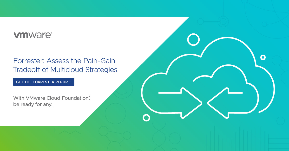 test Twitter Media - Multicloud isn't always the answer. Do you know when to say no?  Read the Forrester report, Assess the Pain-Gain Tradeoff of Multicloud Strategies: https://t.co/6d0o6kVeRP https://t.co/qRR2D2Wyfb