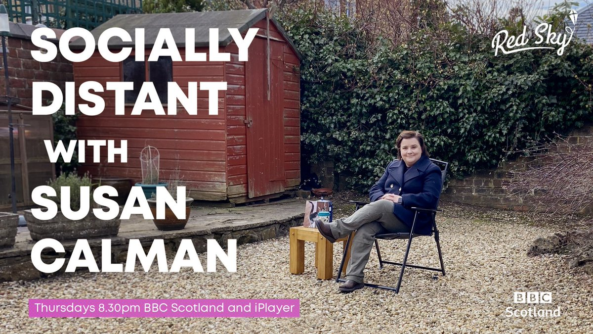 I'll be popping up on #SociallyDistant with the wonderful @SusanCalman tonight on @BBCScotland and @BBCiPlayer 8.30pm BST! https://t.co/IbHPotLf76
