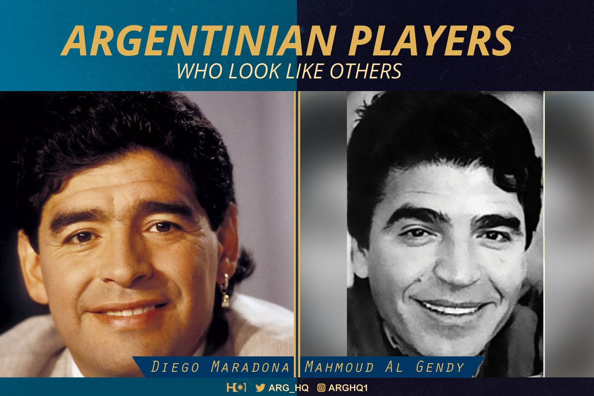 #Argentina Players who look like others pic.twitter.com/lESGL3im5c