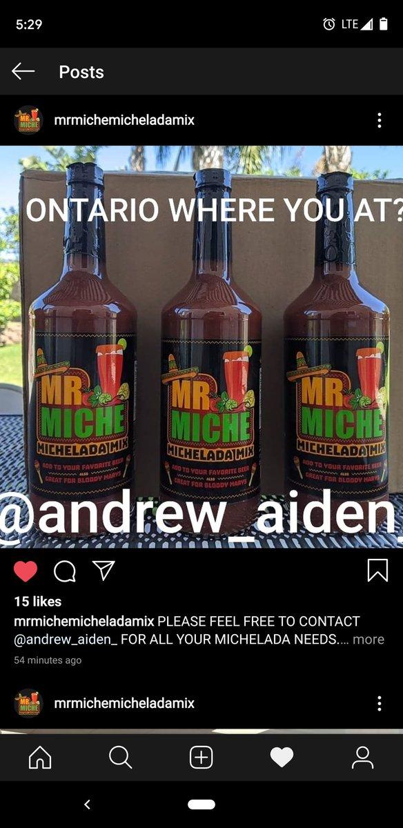 And drinking #michelada !!!!! #MrMicheladaMixpic.twitter.com/cZwDw2gTux
