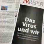 Image for the Tweet beginning: Unsere Branchenbibel #PR-Report einmal ganz