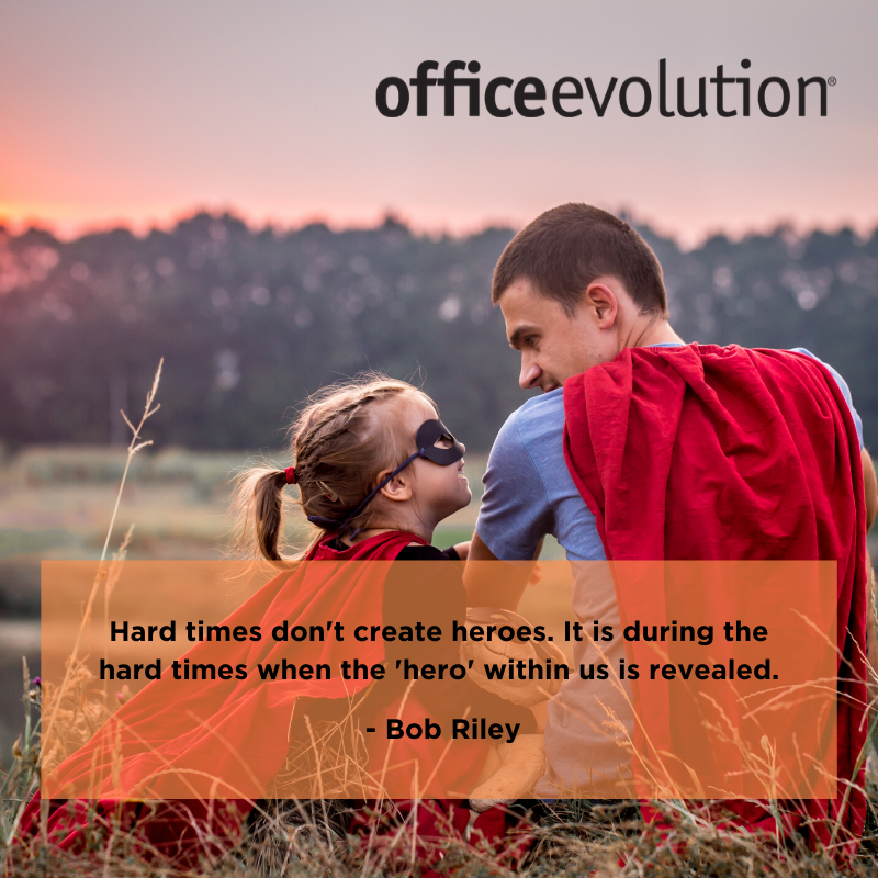 Rise to the challenge and unmask the hero inside you!  #OfficeEvolution #inspiration #beahero #risetothechallenge #ThursdayThoughts #OEPearlRiver<br>http://pic.twitter.com/7Jit3kv9G1