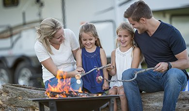 Nothing says summer like a camping! Before you hit the road to your favorite campground or wilderness site, be sure that you're ready to have a safe and fun time. These top camping safety tips will help. #campingsafety #camping #summer #campground #safety