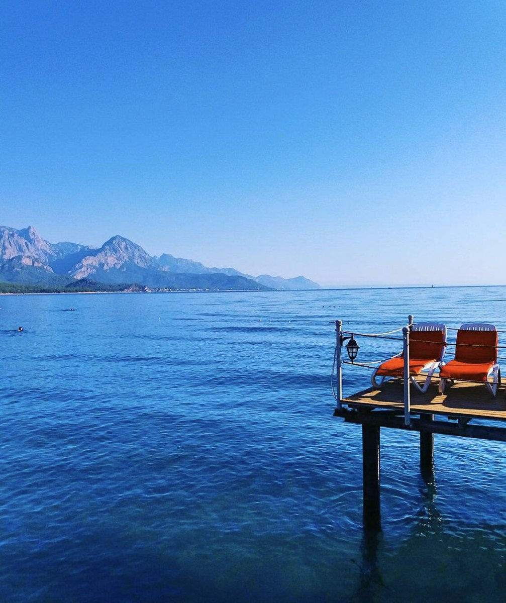 The best #summer destinations are ones you swim to.  💙💚  #VisitKemer  #Kemer #KemerBeach #BeautifulDestinations #Antalya #VisitAntalya #TravelTomorrow