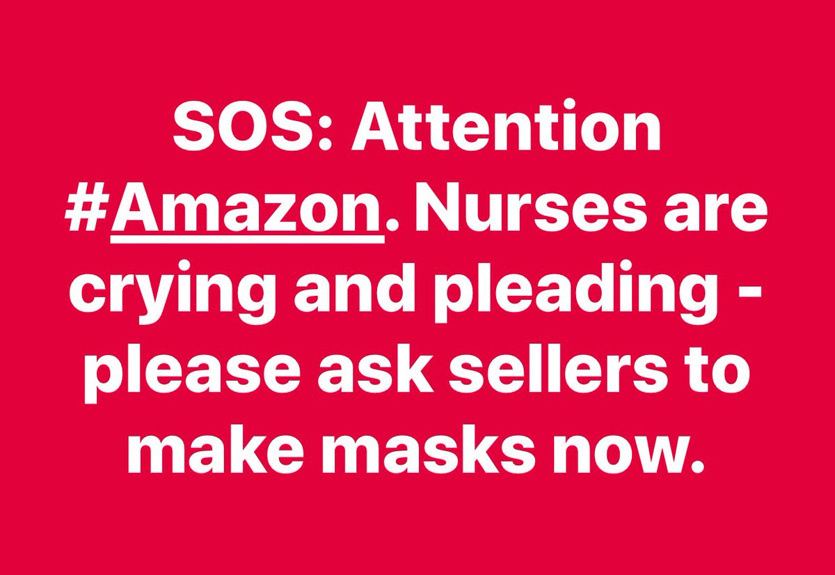 """#Amazon #SewingMachine #business #doctors #nurses #RespiratoryTherapist #quilter #fabric #JoannFabrics -  CNN interviewed nurses pleading - if we have to """"re - use masks (dangerous), the doctors, nurses and respiratory therapists will be DEAD and the patients..no one to take carepic.twitter.com/aYcuE3MHrR"""