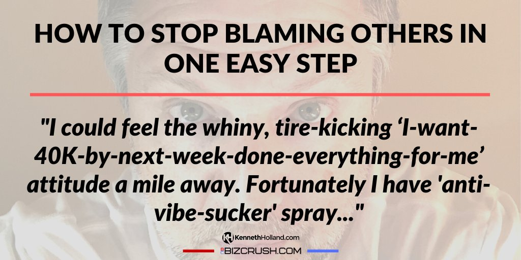 How to Stop Blaming Others in One Easy Step https://bizcrush.com/stop-blaming-others/ … #successmindset pic.twitter.com/AteaKlzIrR