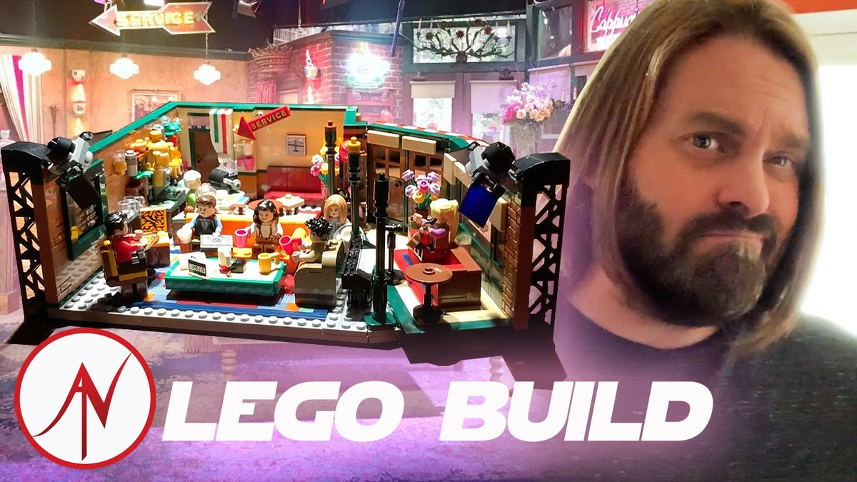 Hey all! Check out my new #Friends #LEGO Ideas Timelapse Build! With Lights!      via @YouTube @LEGO_Group