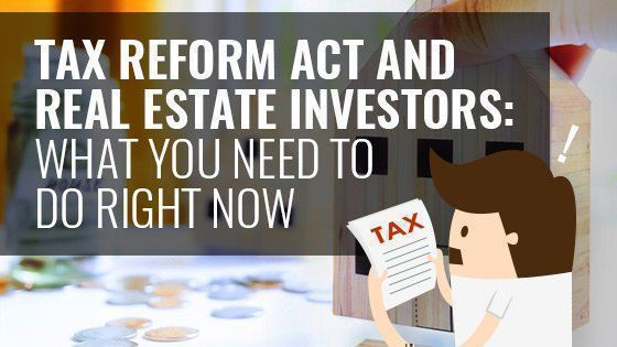 Learn what the #TaxPlan means for you as a Real Estate Investor. https://buff.ly/2HjE2py via @chooseaba #realestateinvestors #investments #TAXES #taxwisetoby #realestateinvestorpic.twitter.com/BB6Wic3gWw