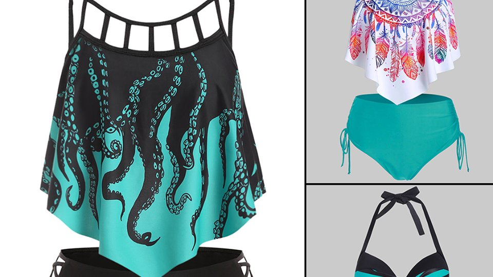 Beautiful #Swimsuit Styles You Will Love @DressLilycom  ,  #Summer #Beach #Vacation