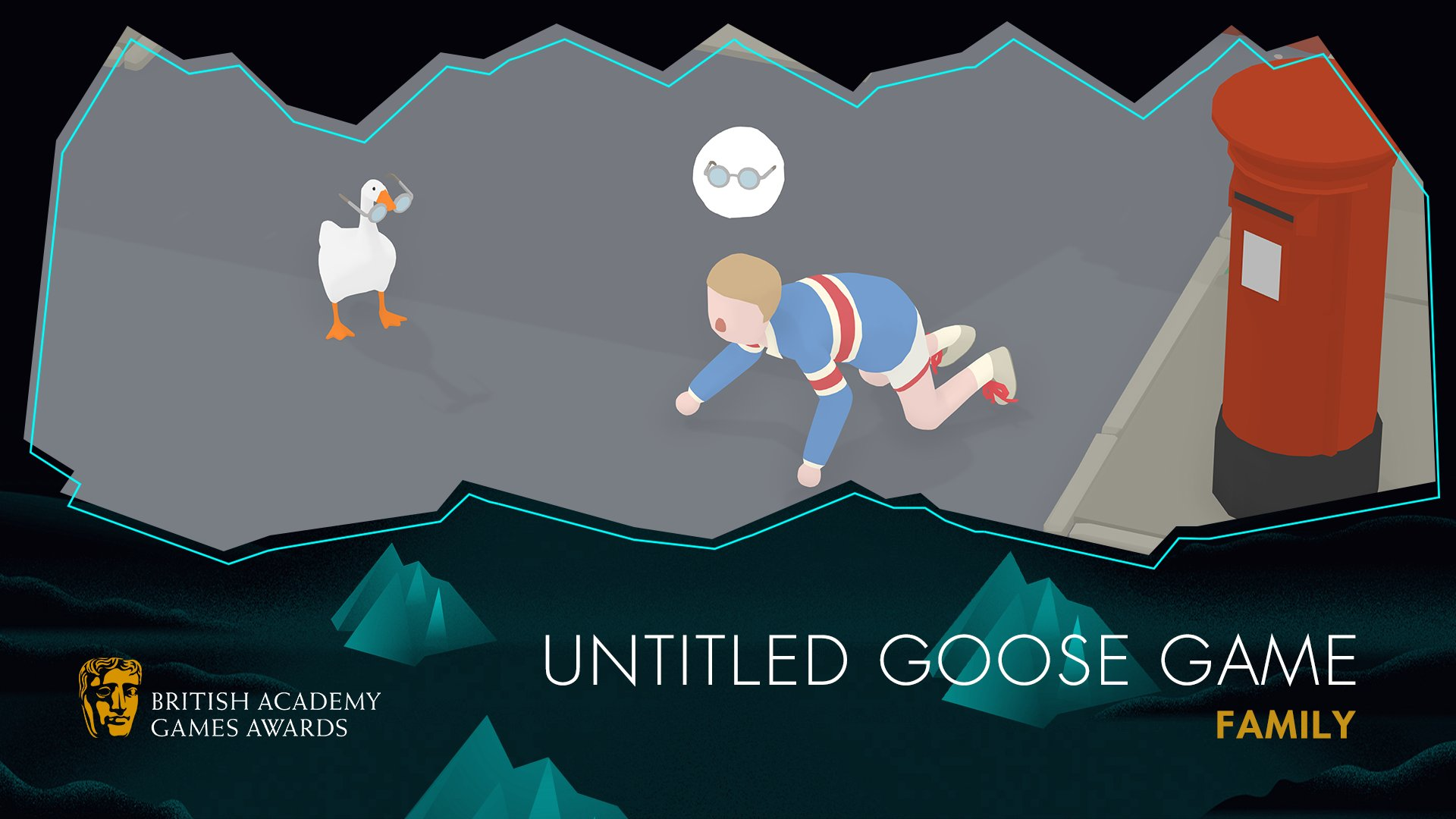 Untitle Goose Game BAFTA GAMES AWARDS 2020