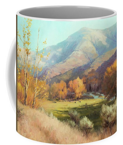 I send my thanks to the buyer from Colorado who purchased Indian Summer --  -- and Peace --  -- beverage mugs. May you enjoy many peaceful moments, tete a tete with a friend, with them. #beveragemugs #mugs #peace #summer