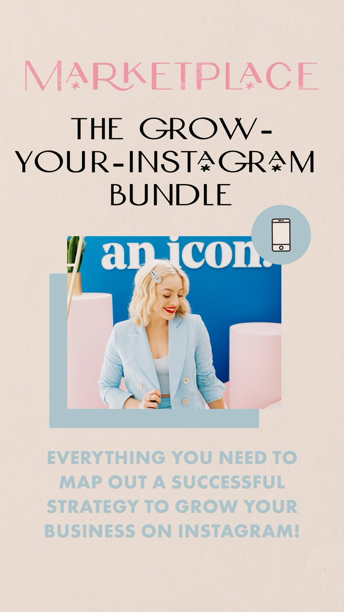 WANT TO GROW YOU INSTAGRAM FOLLOWING? We've got everything you need to map out a successful strategy to grow your business on Instagram! Head to the C&C Marketplace to check out the Grow Your Instagram Bundle https://bit.ly/39EpkDw pic.twitter.com/W56pdysONV