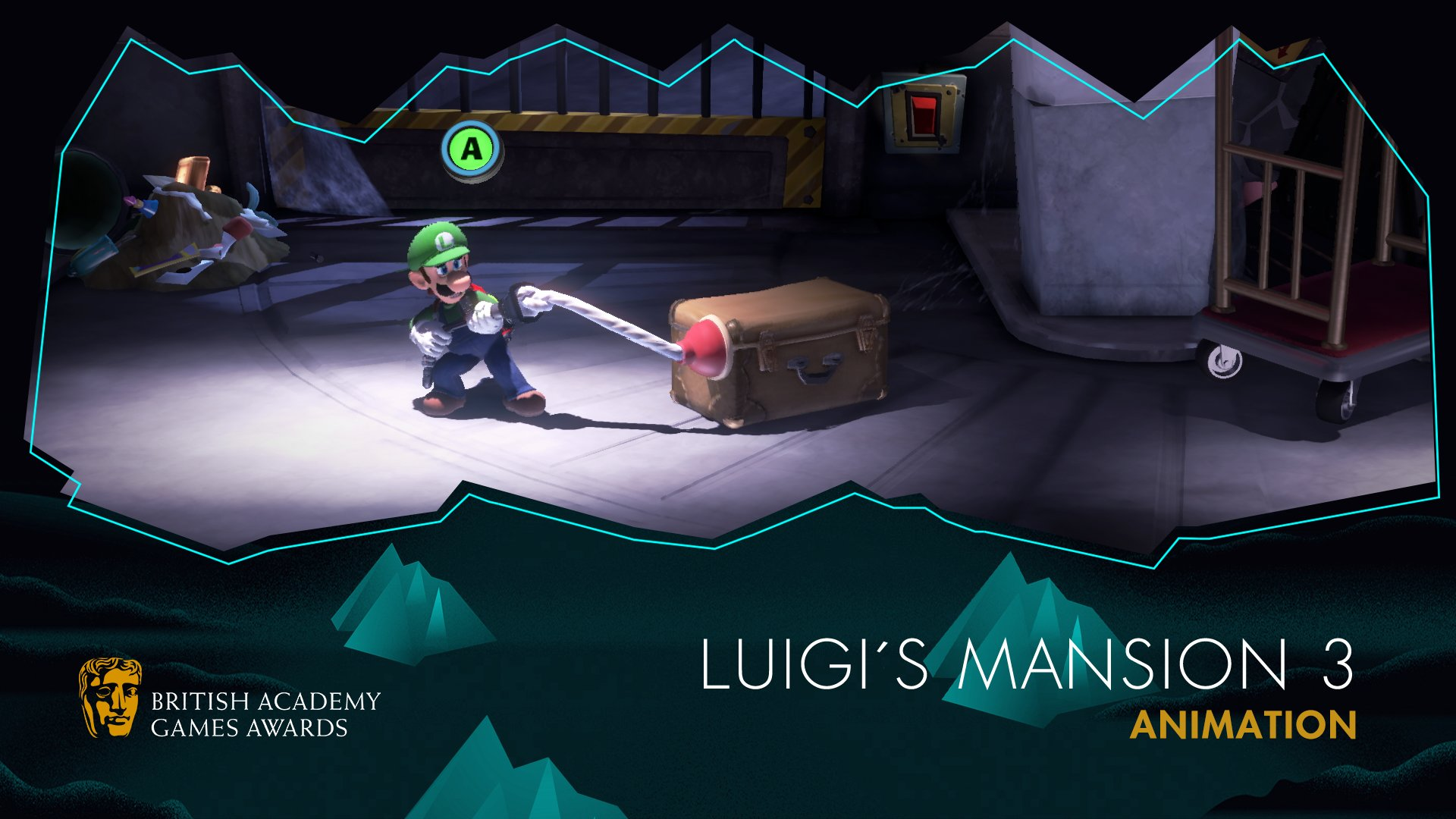 Luigi Mansion 3 Bafta Games Awards 2020