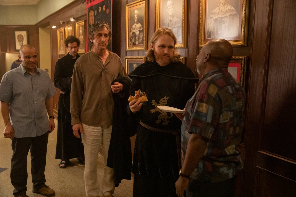 In today's edition of the @Lodge49 Rewatch, @JohnEBetancourt takes a moment to examine how 'DisOrientation' takes a break from the show's main themes to focus on something a touch more philosophical! #Lodge49 #Lodge49Forever #DrynxWithLynx