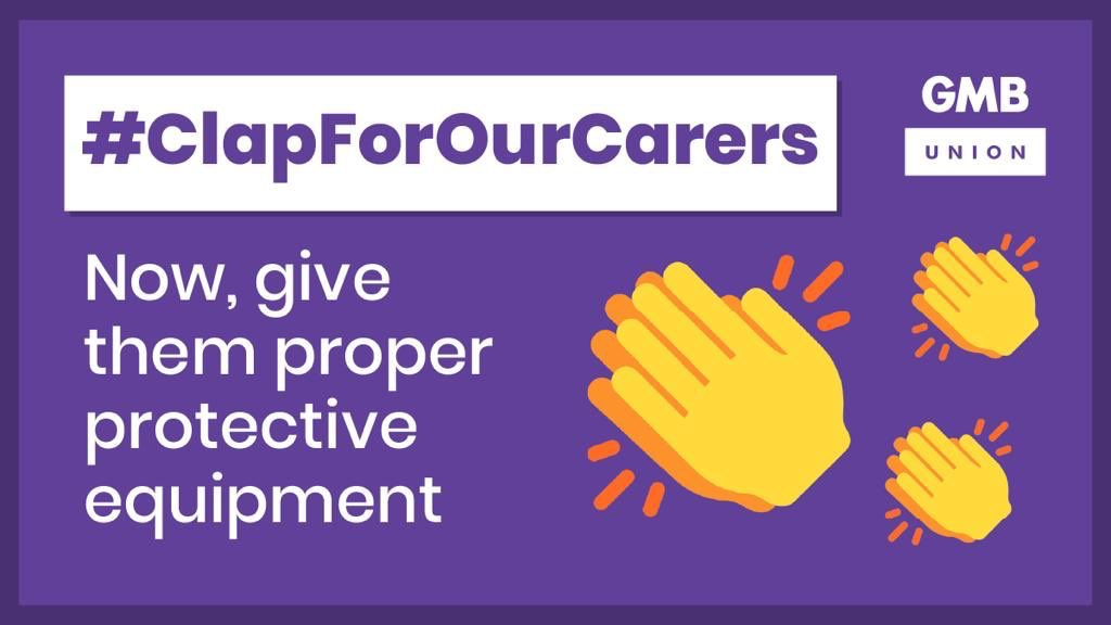 Clap for our carers and all other key workers who are on the frontline in this battle. We applaud you - and we stand with you in the struggle to get the support and recognition you deserve. #ClapForOurCarers #ClapForkeyWorkers 👏🏼👏🏾👏🏼👏🏽👏🏿👏🏾👏🏼👏🏿👏🏾👏🏻👏🏽