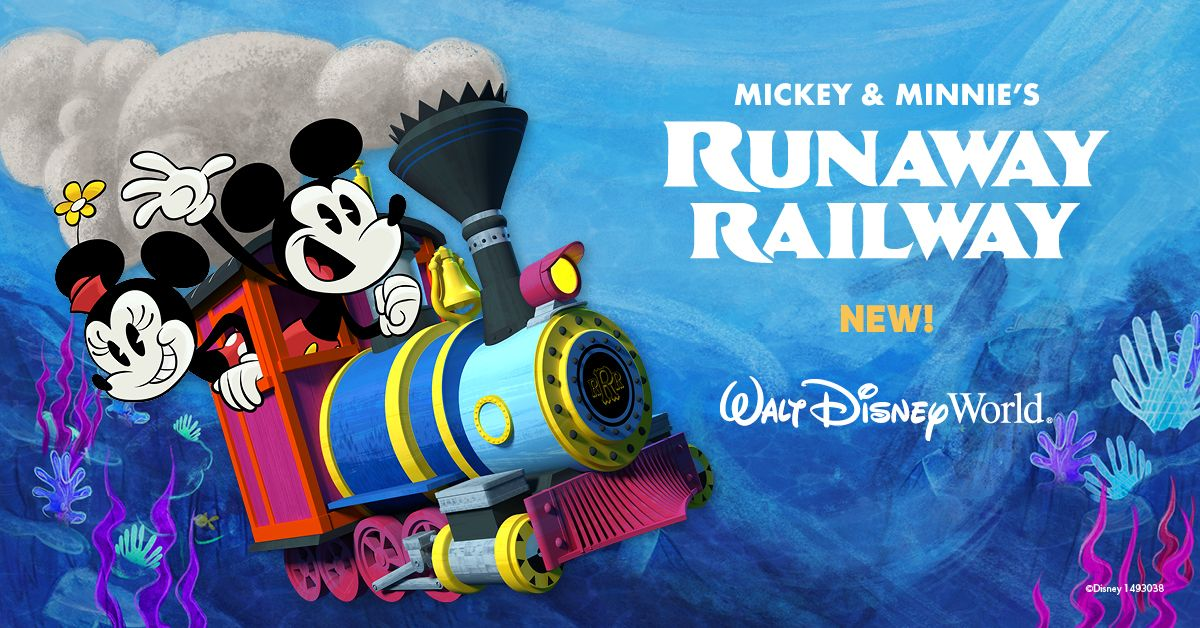 Pack your imagination, switch tracks and take a ride on the cartoon side like never before. Anything can happen on Mickey & Minnie's Runaway Railway at Disney's Hollywood Studios! #MouseRulesApply