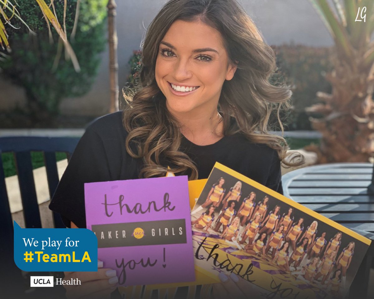 These are great! Thank you @LakerGirls for your support. #TeamLA