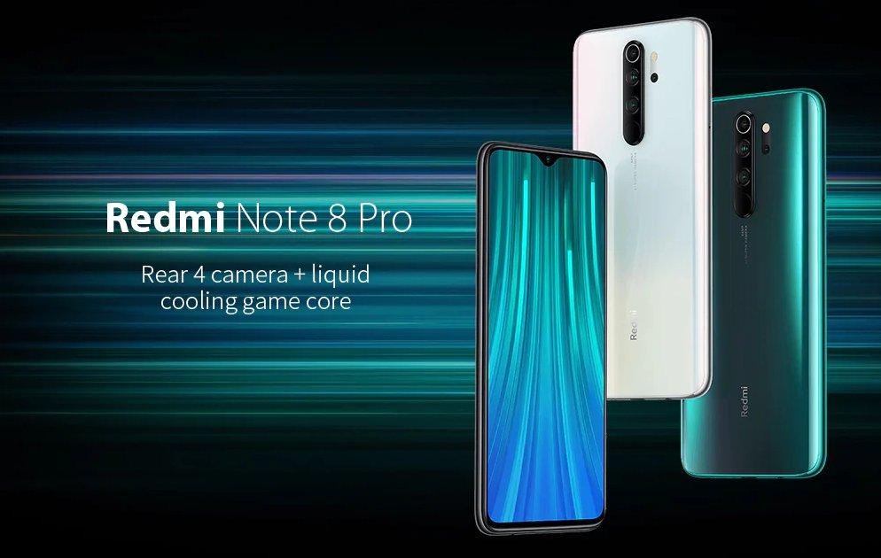 """test Twitter Media - Een van de Best verkochte #Smartphones! De #Xiaomi #Redmi Note 8 Pro 6GB/64GB met de supersnelle #Helio G90T en 6.53"""" display! Nu met #Couponcode €187 :-D (y)  🔥😍 Coupon: GBNOTE8P1 📱📱 Link: https://t.co/Whbtwl2EPS  Meer? Volg ons: https://t.co/vluqnnu8hy https://t.co/15JqNVgWgj"""