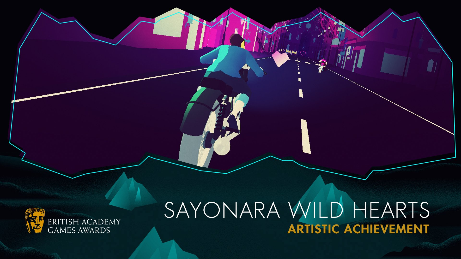 Sayonara Wilds Heart Bafta Games Awards 2020