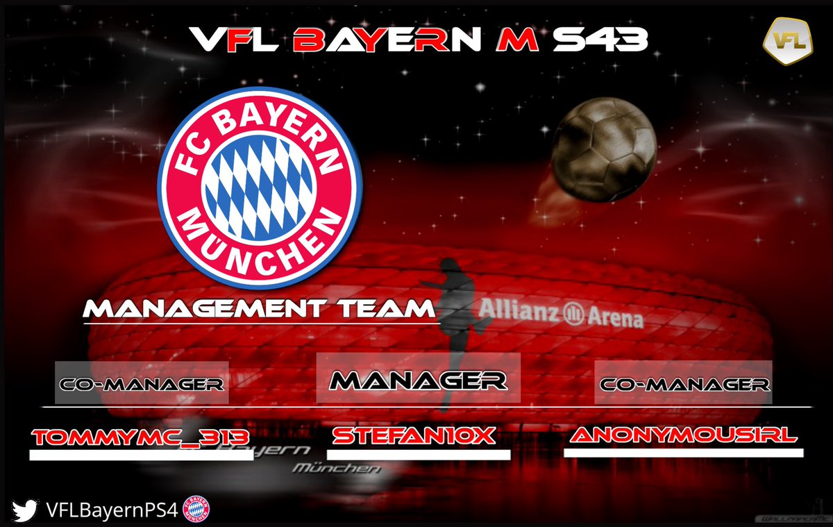 Proud to Welcome @MrMarley202 & Tommy into management alongside @_Stefan10x for S43 with @xDemo17 taken up the role off Director off football for the upcoming season @TheVFL_. ☘️🔴⚪️ #MiaSanMia