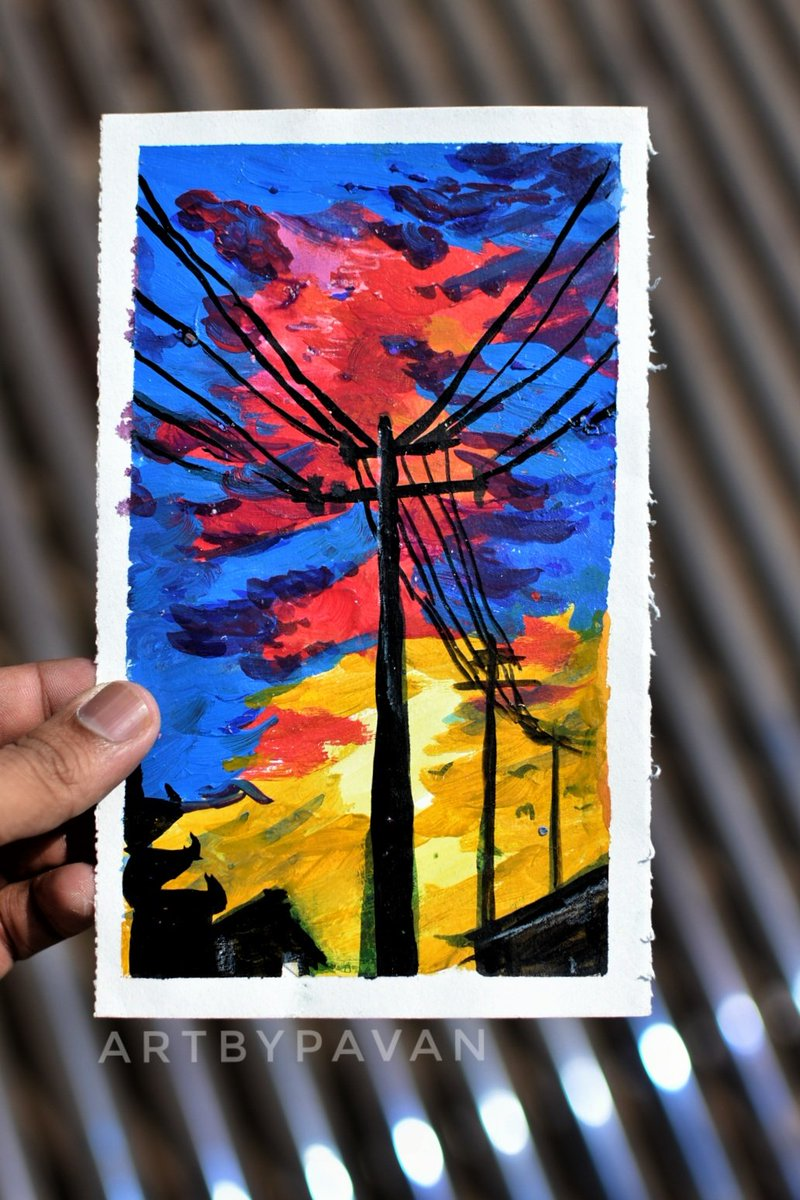 Water and Acrylic Art: The connection #watercolor_art#watercolourweekly#watercolorlandscape#worldwatercolorgroup#nature#travel#drawing#sunset#art#drawing#artsyphotography #painting #watercolorstudy#watercolorpainting#skypainting#watercolor827#artinspiration pic.twitter.com/NTaME9cA8Y